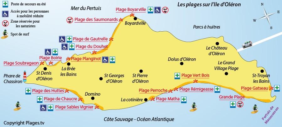 Les plages d 39 ol ron 100km de c tes d couvrir pour les vacances - Ile d oleron que faire ...